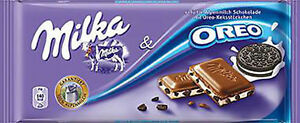 Milka Chocolate OREO 100% Alpenmilch 100g