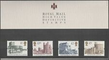 GB 1992 Castles/Buildings/Architecture/History/Heritage 4v P Pack (n41880)