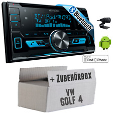 VW Golf 4 IV - Kenwood 2DIN Bluetooth USB Autoradio PKW Einbauset Auto Radio 12V