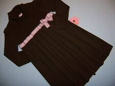 """Gymboree girls """"SWEETER THAN CHOCOLATE"""" sz 5 DRESS...BROWN...OUTLET"""