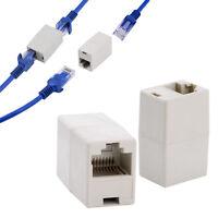 3pc RJ45 CAT 5 5E Newtwork Ethernet Cable Joiner Coupler Connector Extender Plug