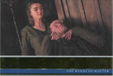 Game Of Thrones Season 6 Gold Base Card #29 The Winds of Winter
