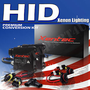 HID Conversion Kit H10 9145 9140 Ford GMC Jeep Ram Fog Light Xentec 3k 6k 8k 10k