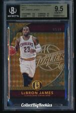 2016-17 Panini Gold Standard Serial # 2/79 LeBron James BGS 9.5 Gem Gold