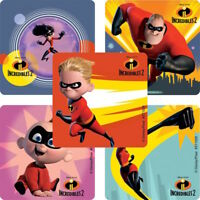 25 Disney Pixar Incredibles 2 Stickers Party Favors Teacher Supply