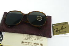 New Vintage B&L Ray Ban Traditionals Britt Blond Tortoise W0665 Oversize NOS