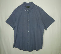 Eddie Bauer Short Sleeve Casual Button Down Dress Shirt Size XL Mens Clothing