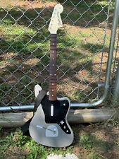 Rock Band Fender Jaguar Wireless Guitar Controller Xbox One 048-047 Gray WORKS
