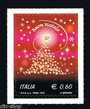 ITALIA 1 FRANCOBOLLO NATALE BUON NATALE 2012 nuovo**