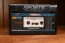 New Listingsports soundesign cassette player 80's vintage Rare cleaned and tested