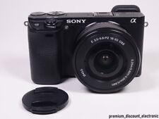 Sony Alpha 6300 Kit (ILCE-6300L) 24.2MP Systemkamera + 16-50mm - NEUWERTIG