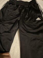 Youth Black Adidas Pants Size L 14/16