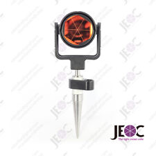 Prism Reflector with Mini Stakeout Rod GLS1, for Leica total station, 140mm pole