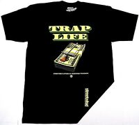 STREETWISE TRAP LIFE T-shirt Urban Streetwear Tee Men L-4XL Black NWT