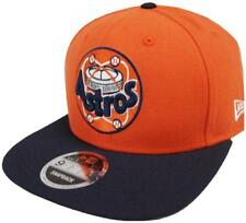 New Era Houston Astros COOPERSTOWN Classics NARANJA GORRA SNAPBACK 9fifty