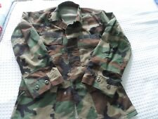 Men's size Small Short Camo U.S. Air Force Issued Cotton Blend Military Jacket