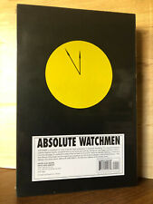 Watchmen Absolute Edition Hardcover Alan Moore & Dave Gibbons Dc Sealed Mint