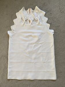 Ted Baker White Bow Top Sz 1