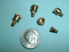 (4) Super Mini Model Hit & Miss Gas Engine Brass Grease Cups