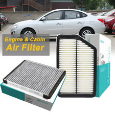 For Hyundai Elantra Tucson KIA Sportage 2.4L Car Parts Cabin & Engine Air Filter