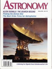 Astronomy Magazine October 1992, Alien Signals, Two Eclipses, Astrophotos