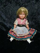 Sehr seltene alte Trachten Puppe von Cellba aus Sammlungsauflösung Nr. 1