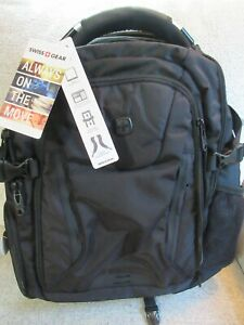 Wenger Swiss Army Airflow Backpack / Laptop Computer Pack Black NEW !!
