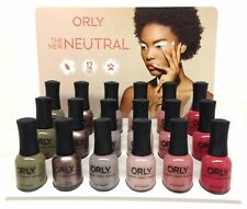 Orly Nail Lacquer - The New Neutral Collection -6 pcs - 0.6oz/18ml