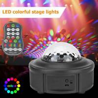 Disco Party DJ LED Stage Effect Light Lamp Laser Crystal Magic Ball w/Remote