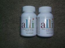 alli Orlistat 60mg Weight Loss Supplement Pills -240 caps.(2)bxs