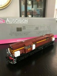 Auscision 45 Class in NSWGR Indian red and buff livery