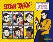 Palau - Star Trek 50th Anniversary- Sheet of 6 Stamps, 2016