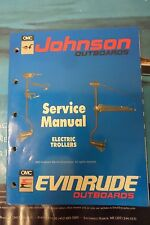 1989 JOHNSON OUTBOARD SERVICE MANUAL for ELECTRIC TROLLERS