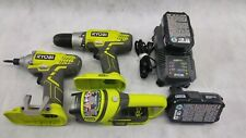 Rioby P277 And P235 Drill, Impact Bundle Battery Charger toolset