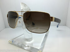 AUTHENTIC RAYBAN  RB 3530 001/13 GOLD/BROWN GRADIENT LENS 58MM