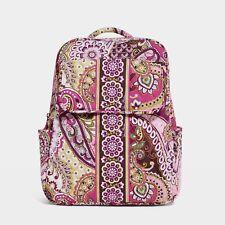 NWT Vera Bradley Very Berry Paisley Backpack Bag Retired HTF #12746-063 $89