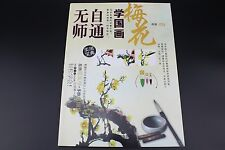 Self-Study Chinese Brush Ink Painting Sumi-e How To Draw Plum Blossom Books