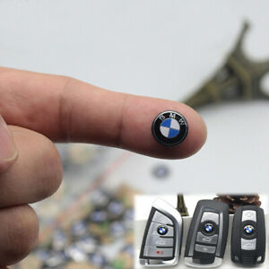 For BMW Key Fob Remote Badge Logo 11 MM 4x  Sticker Emblem