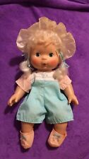 Strawberry Shortcake Blow Kiss Apricot Baby Doll 1982 With Complete Outfit
