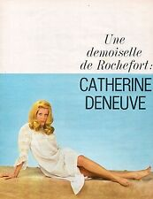 ▬►  CLIPPING Catherine DENEUVE 3-4 pages