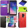 Samsung Galaxy A6 / A6 Plus 2018 Genuine Black Leather Wallet Phone Cover Case