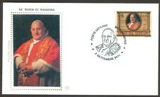 "Vatican City Sc# 1479, ""Mater et Magistra"" by John XXIII, First Day Cover"