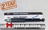 """2 Arrière Amortisseurs pour FIAT DUCATO Citroen Jumper 15/"""" ROUES//GH-301940K//"""