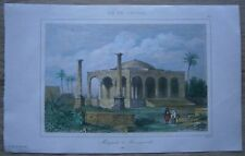 1853 print MOSQUE IN FAMAGUSTA, CYPRUS (#25)