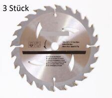 3 HM-kreissägebla TT 135 x 12,7 mm = 24 dientes de metal duro 140 hoja de sierra sierra circular