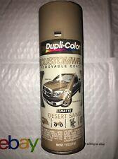 Dupli-Color CUSTOMWRAP REMOVABLE Coating Matte Desert Sand WRC851 11 Oz