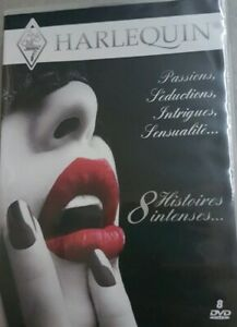 Coffret de 8 DVD : Histoires intenses HARLEQUIN