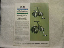 Shakespeare Fishing Tackle reels rods brochure