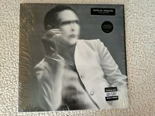 Marilyn Manson ‎– The Pale Emperor, 2015 vinyl, 2xLp. Limited clear pressing