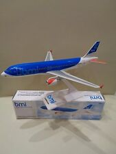 NEW Desk Top Model Plane. BMI A320. Scale 1:200 Very Easy To Assemble